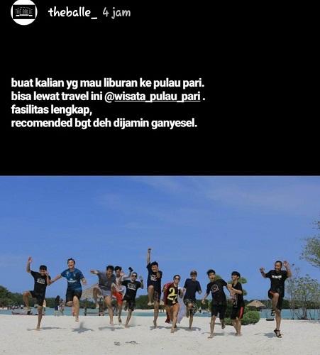 Paket Pulau Pari Jakarta